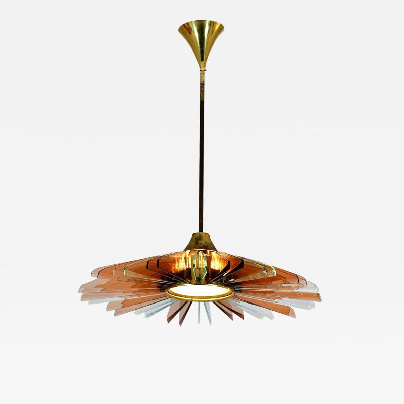 Max Ingrand Rare Ceiling Light