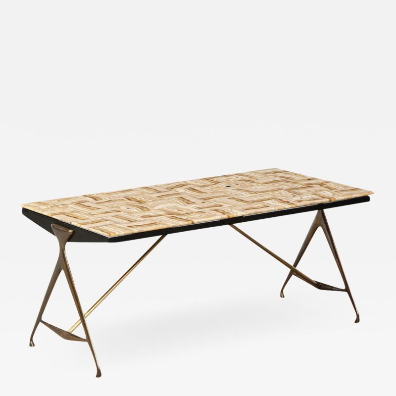 Max Ingrand Rare Low Table by Max Ingrand for Fontana Arte