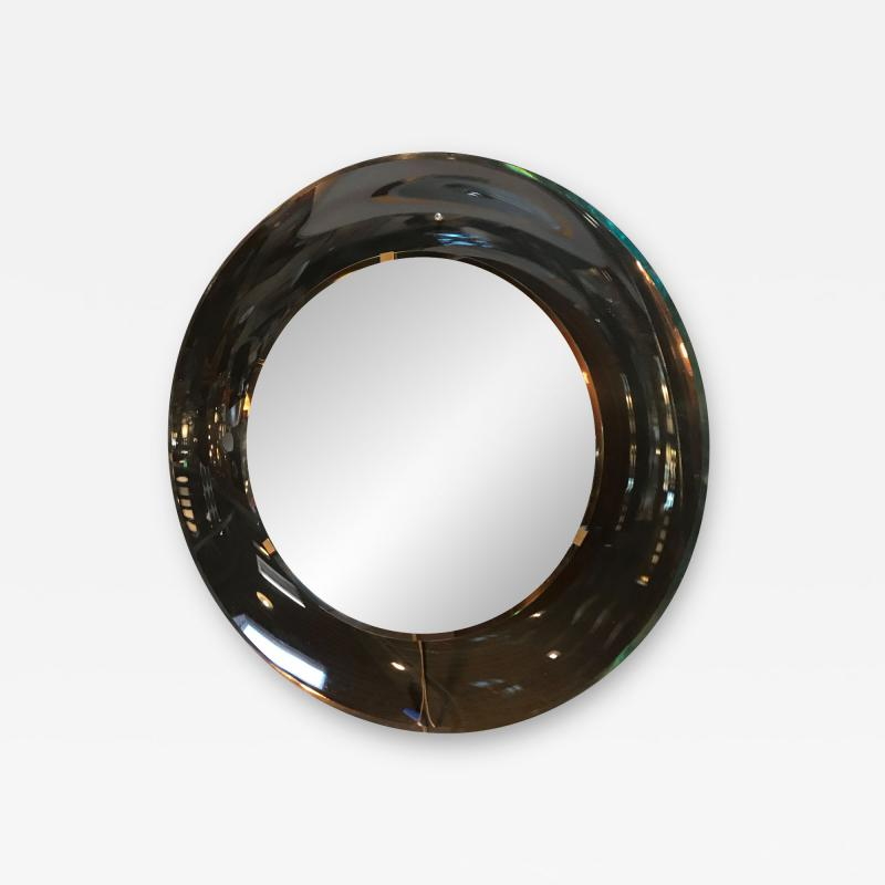 Max Ingrand Round Mirror by Max Ingrand for Fontana Arte Italy 1960s