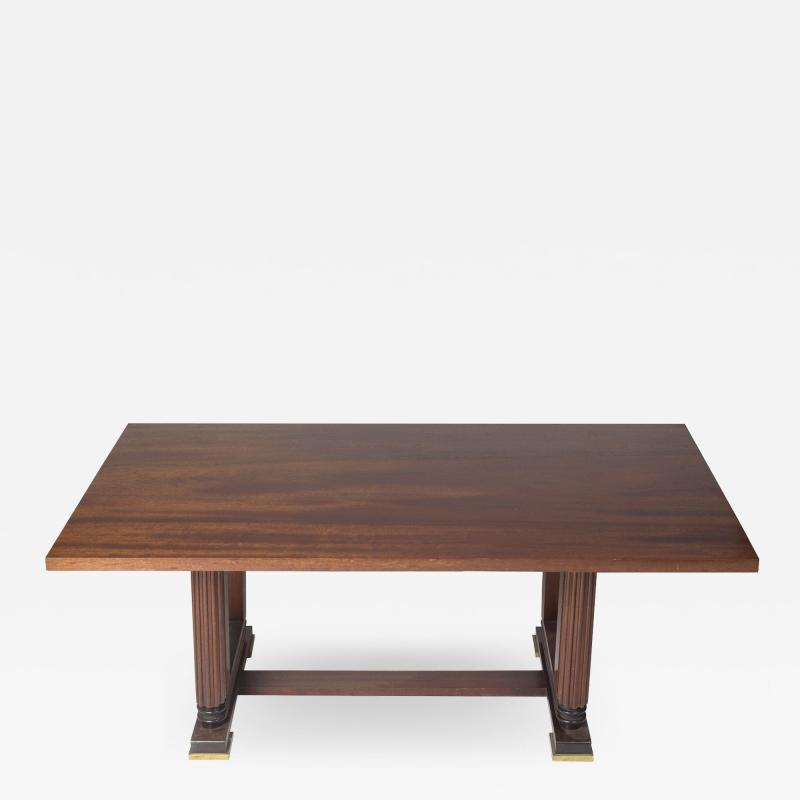 Maxime Old Dining table in the style of Maxime Old France 1940 1950