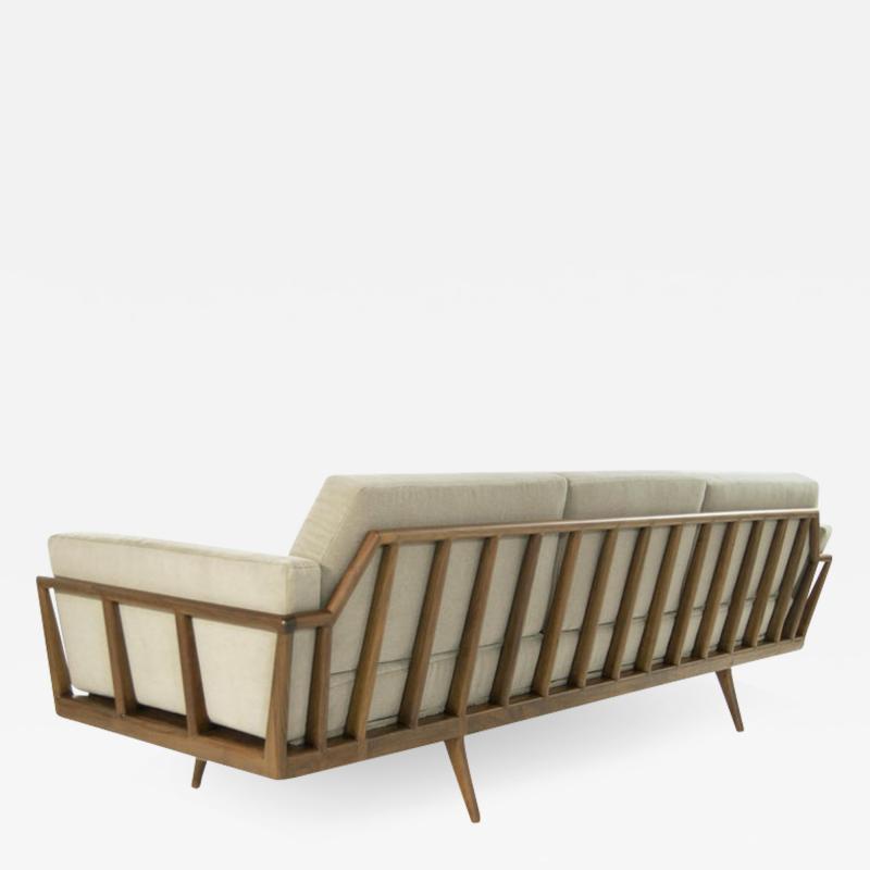 Mel Smilow Mel Smilow Rail Back Sofa for Smilow Thielle circa 1950s