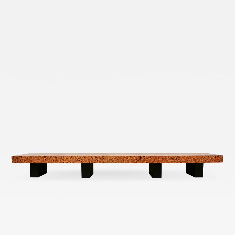 Memphis style large coffee table