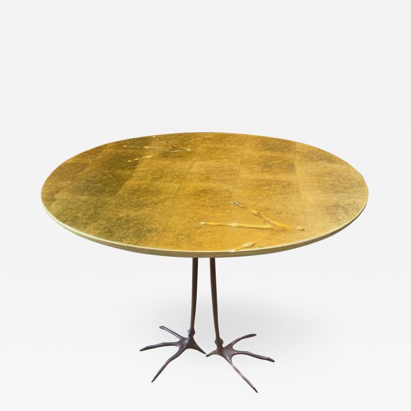 Meret Oppenheim Meret Oppenheim Bronze Traccia Coffee Table Italy 1972