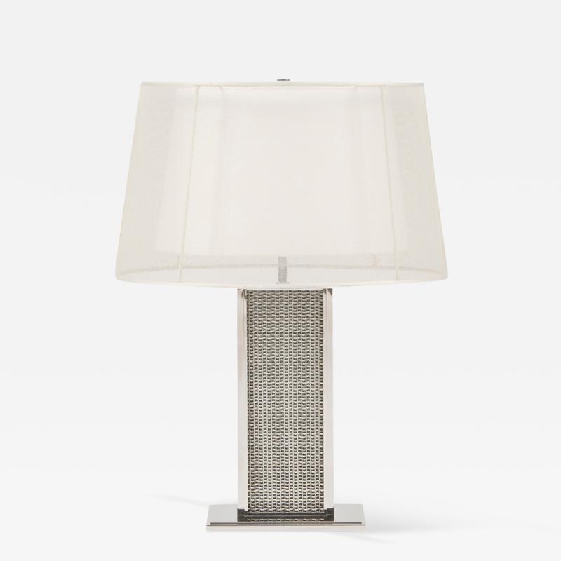 Metal Mesh Table Lamp