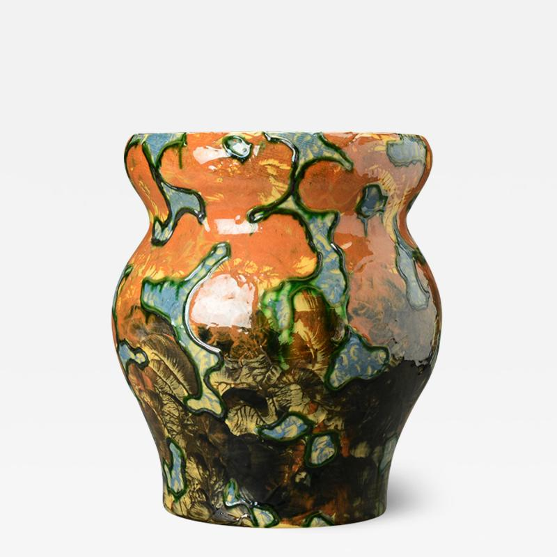 Michael Andersen Sons Vase from the Camouflage Series by Daniel Folkmann Andersen