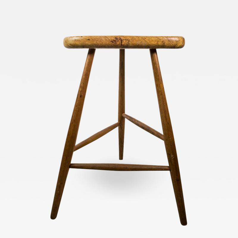 Michael Elkan American Studio Bar Stool by Michael Elkan