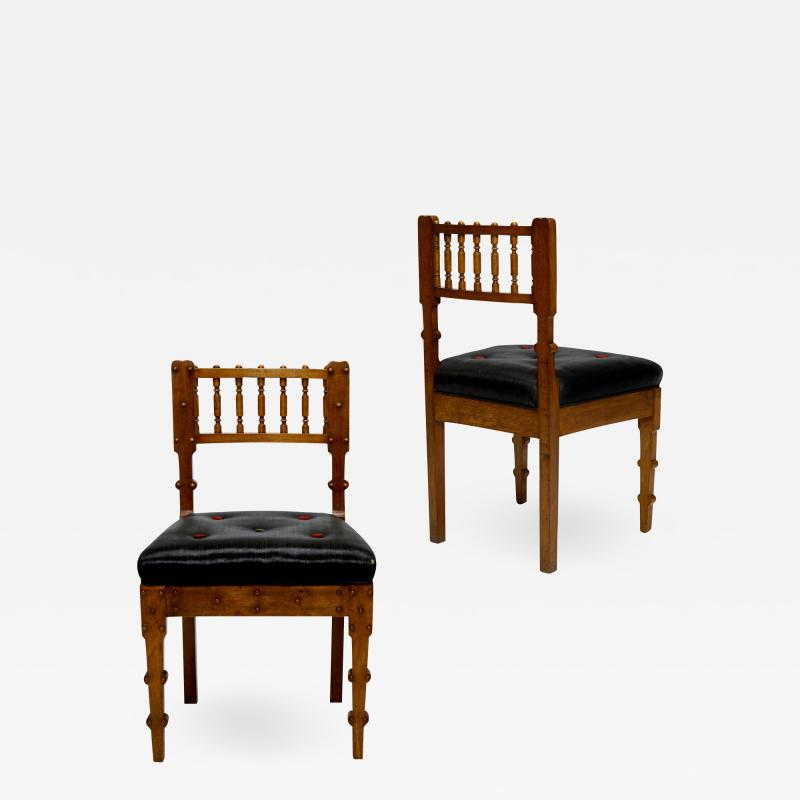 Michael Gottlieb Birckner Bindesb ll Pair of Neo Antique chairs by Michael Gottlieb Birckner Bindesb ll