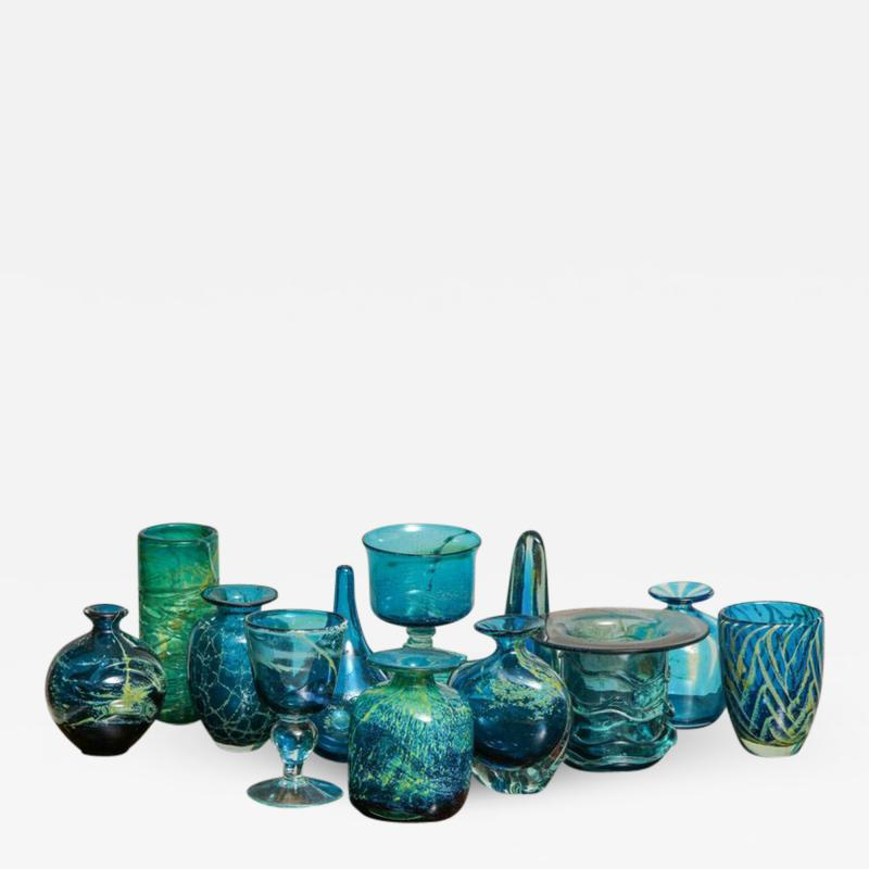 Michael Harris Collection of Maltese Studio Glass