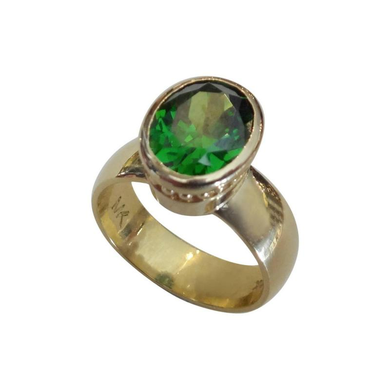 Michael Kneebone Michael Kneebone Green Tourmaline Leah Ring