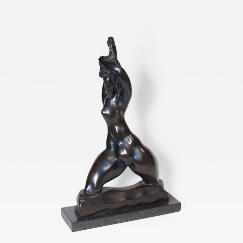 Michael Lanz Michael Lantz Bronze Female Sculpture org American