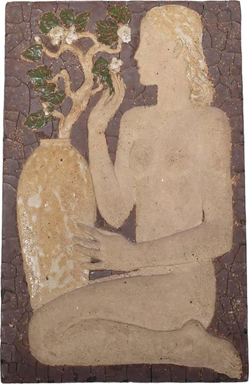 Michael Schilkin Early Wall Relief by Michael Schilkin for Arabia 1938