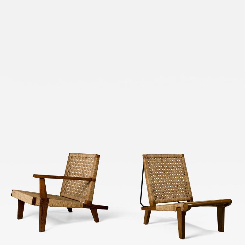 Michael van Beuren Michael Van Beuren Matched Arm Chair set 1940s