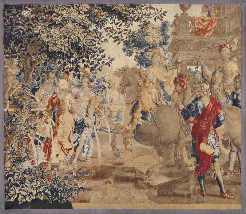 Mid 18th Century French Tapestry