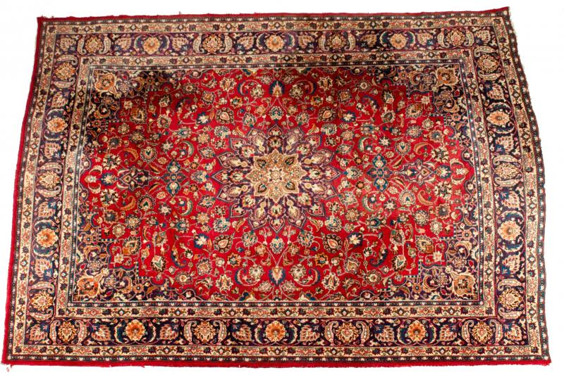 Mid 20th Century Hand Knotted Persian Rug