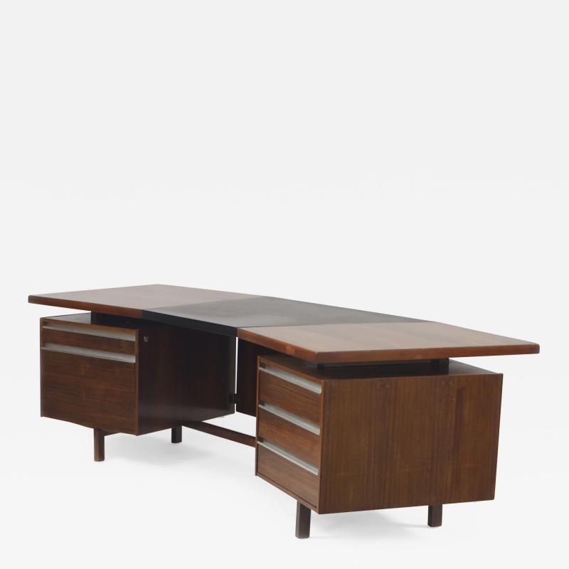 Mid Century 1960s Dutch Continental Executive Desk