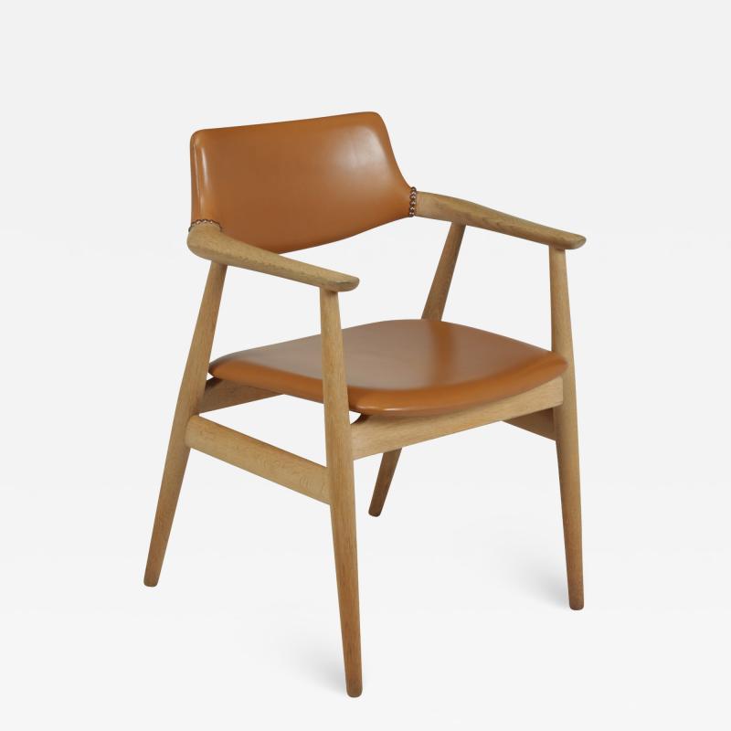 Mid Century Desk Chair in Oak by Erik Kirkegaard