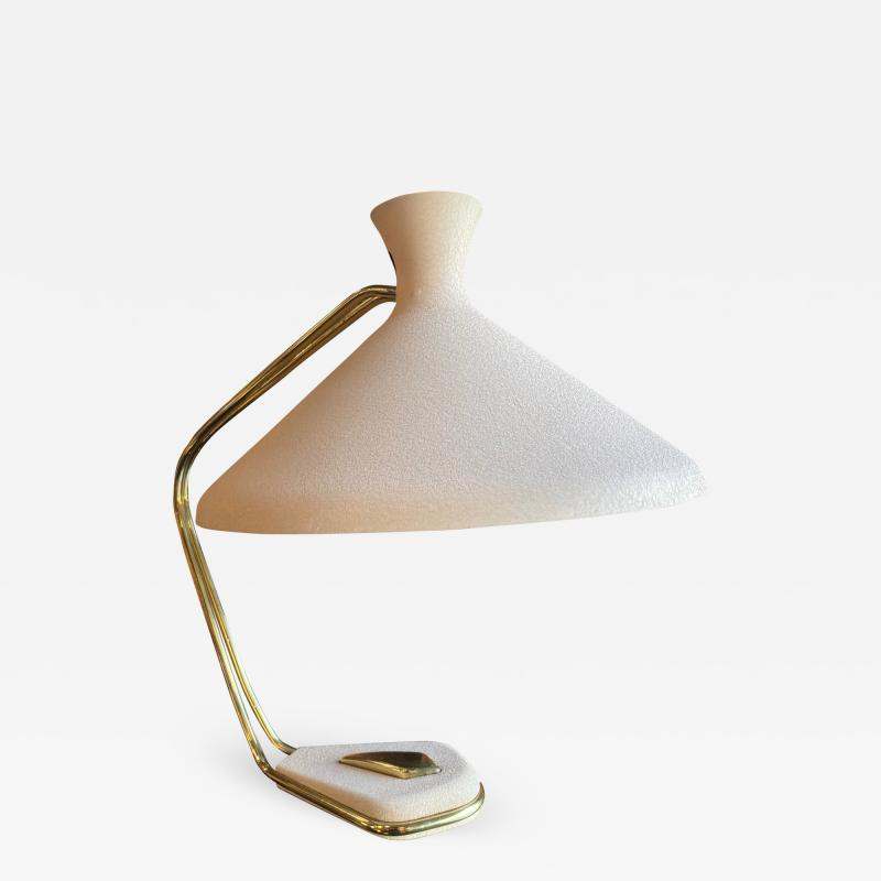 Midcentury Brass Table Lamp Italy 1960s