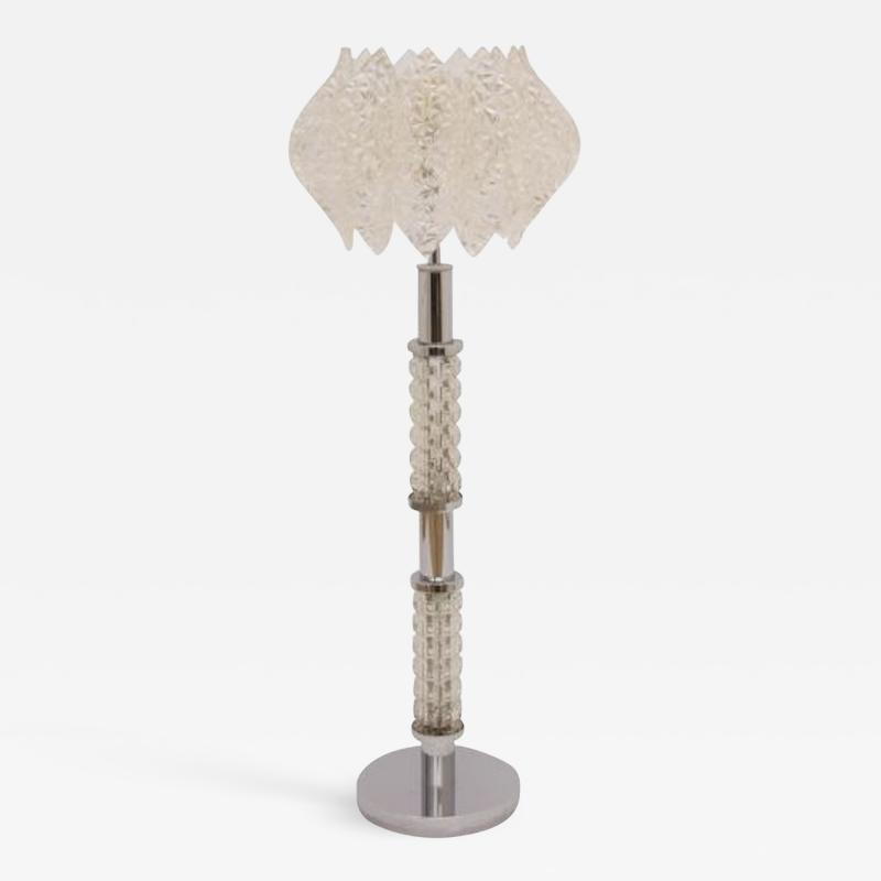 Midcentury Floor Lamp with illuminating column