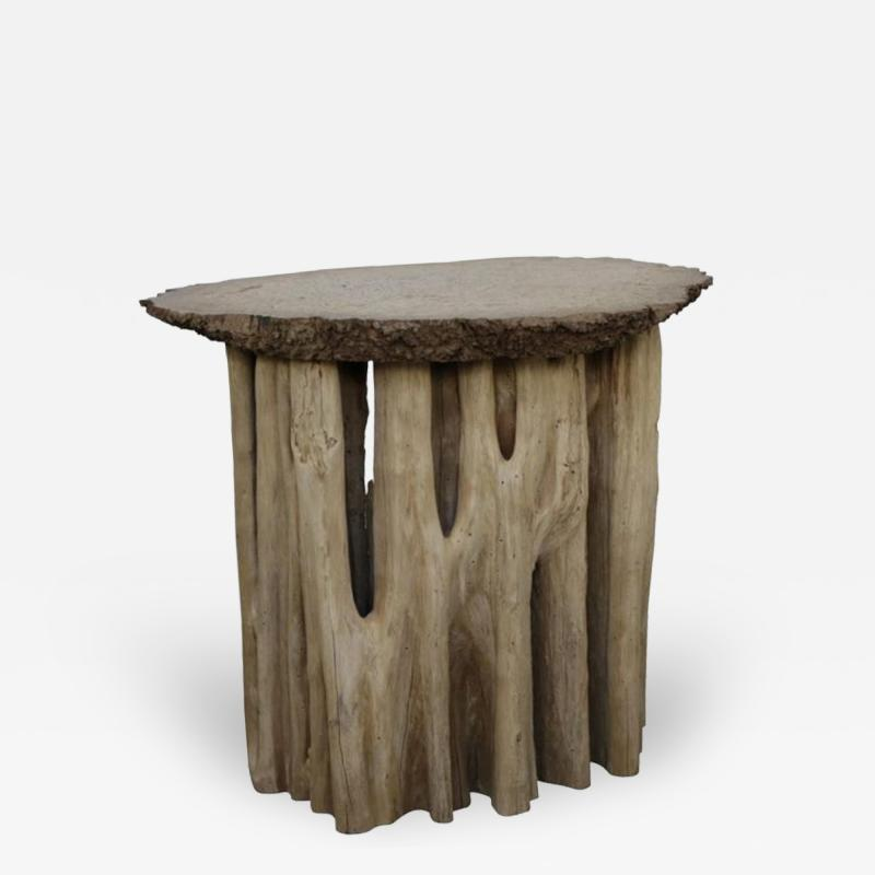 Midcentury Gueridon Made of a Root