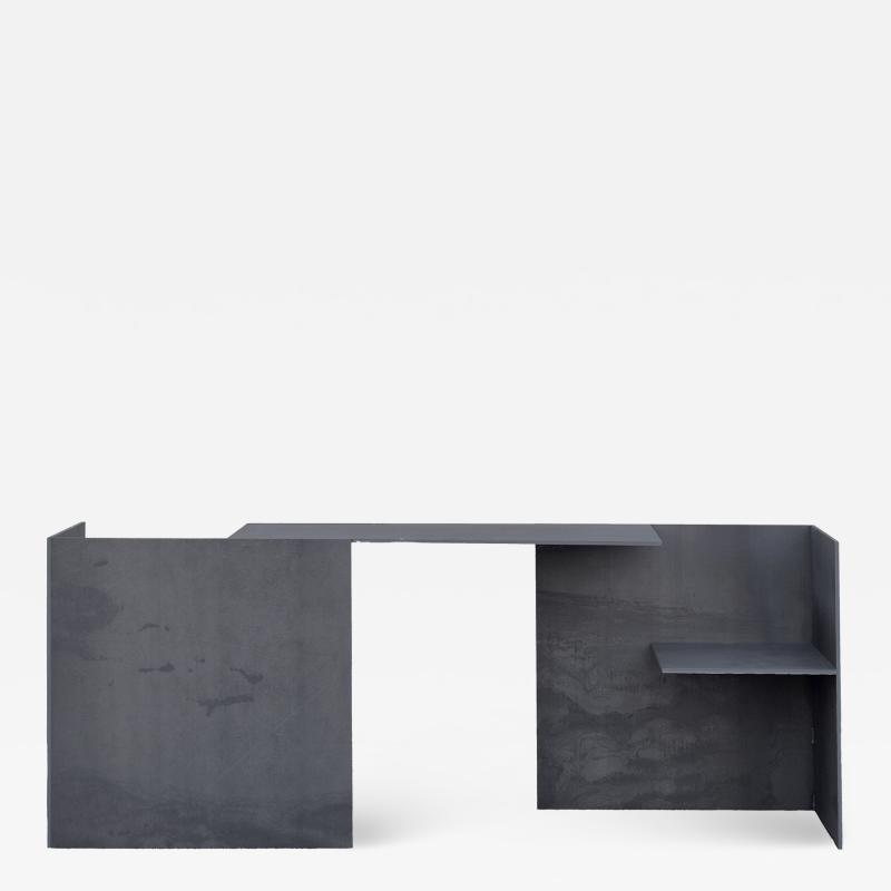 Miguel Saburi s 302 2 Steel Double Desk