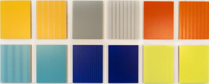 Milly Ristvedt Twelve Panels Thirty Six Colours