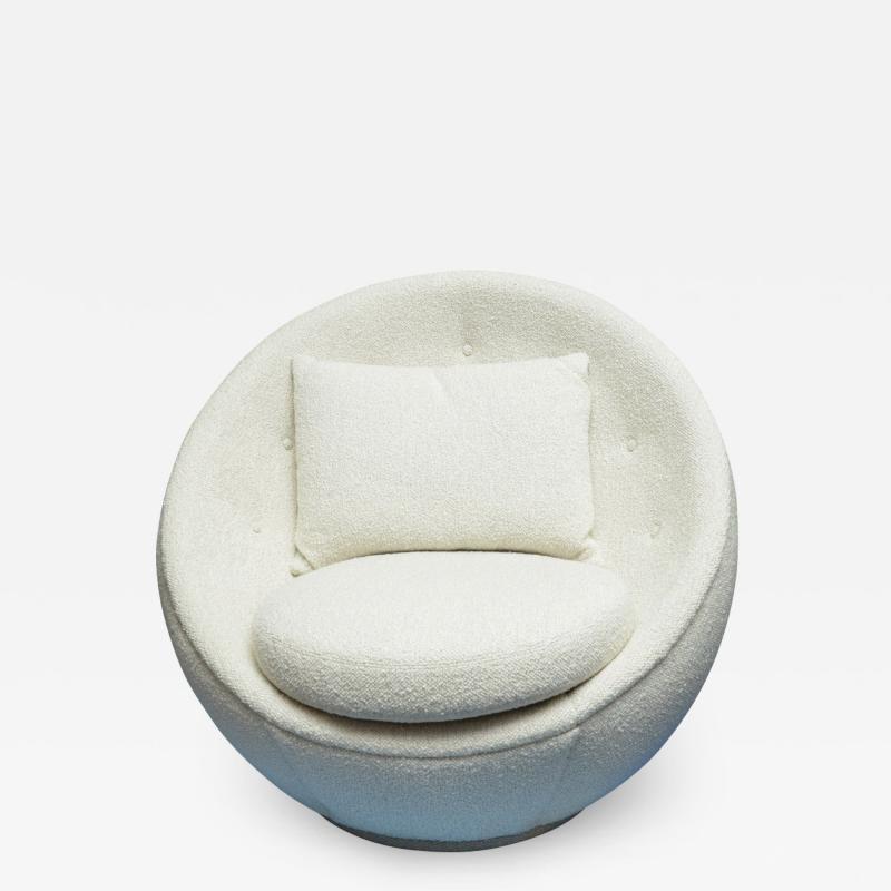 Milo Baughman Good Egg Chair by Milo Baughman