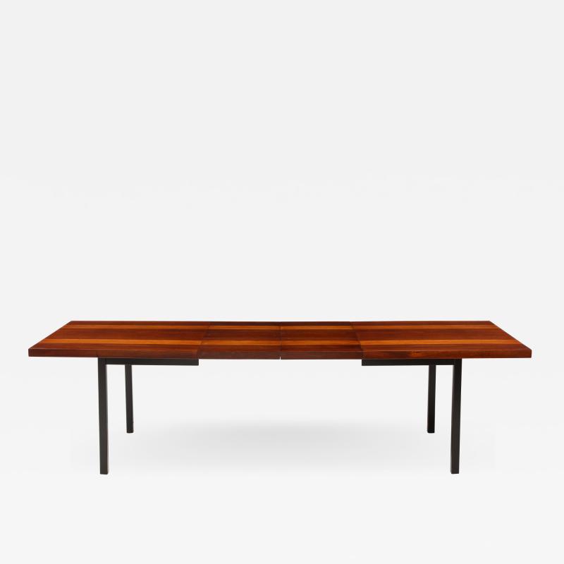 Milo Baughman Milo Baughman For Directional Striped Dining Table