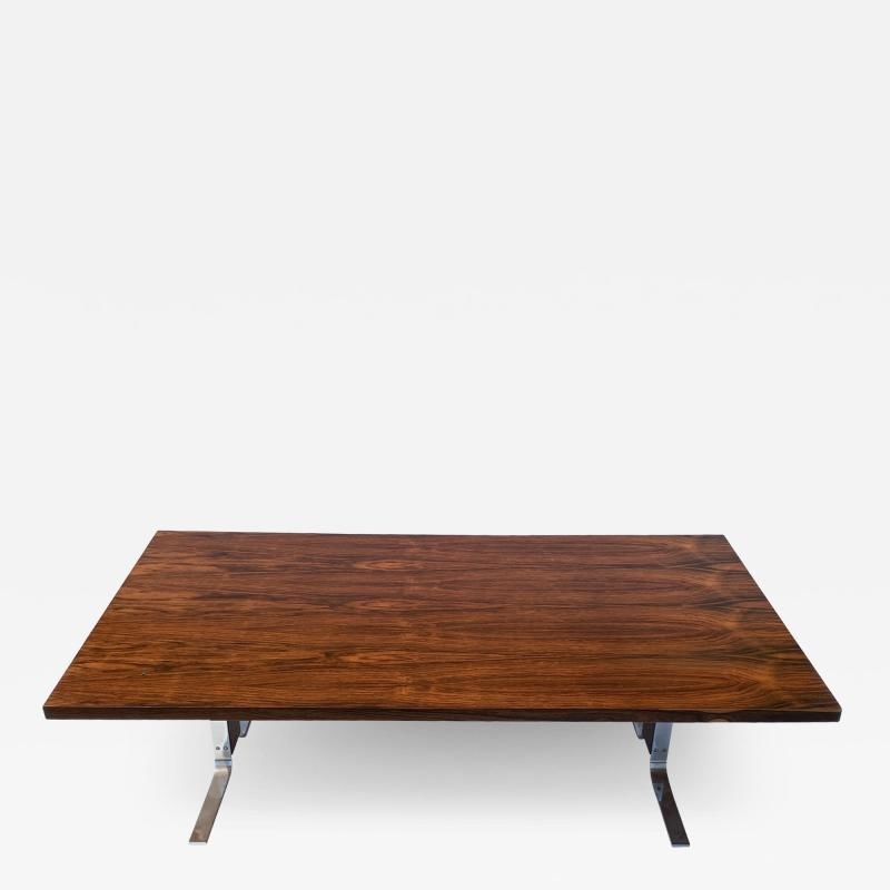Milo Baughman Rosewood Coffee Table