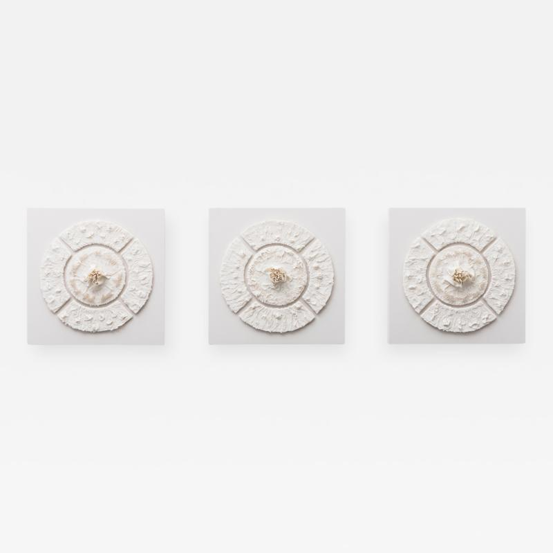 Mindy Horn Parterre Triptych USA