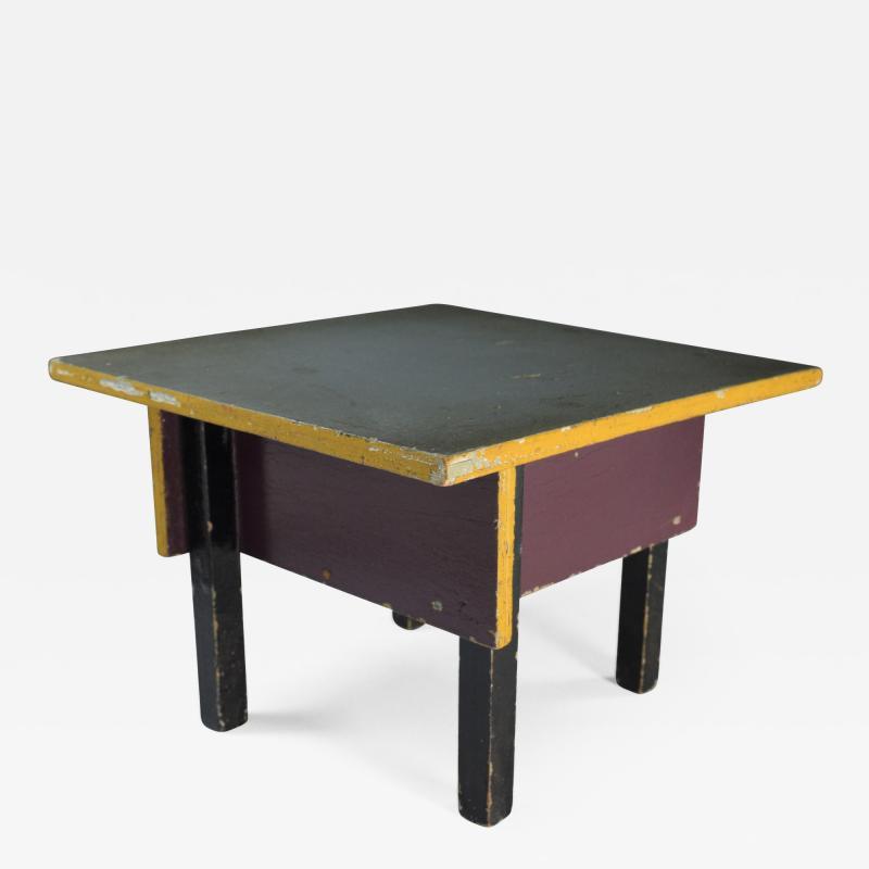 Miniature Table De Stijl Dutch Modernism ADO 1925
