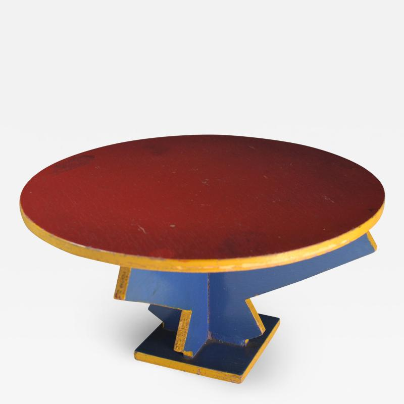 Miniature Table De Stijl Dutch Modernist Design ADO 1925
