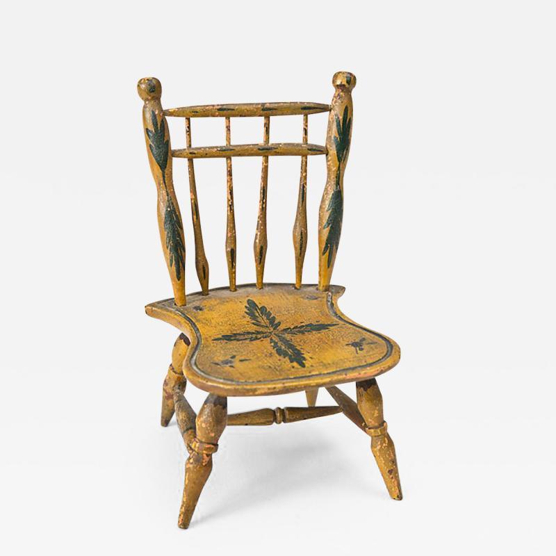 Miniature Windsor Side Chair