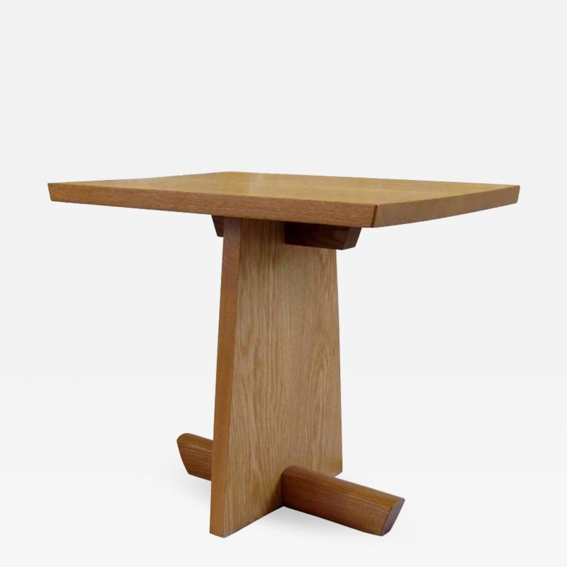 Mira Nakashima Hand Crafted Mira Nakashima White Oak Minguren Table New Hope Studio 1992