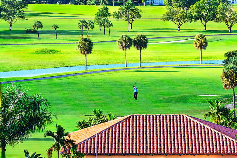 Mitchell Funk Golf Green