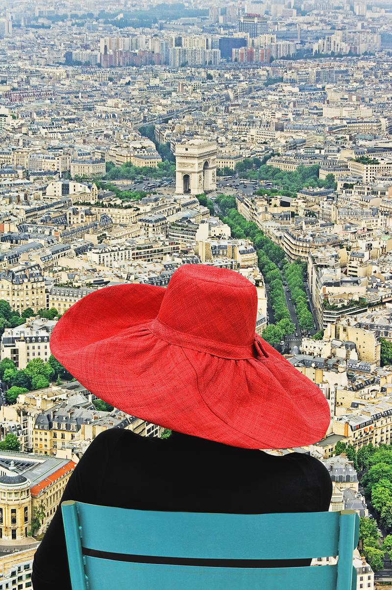 Mitchell Funk Style Above it All Fashion Hat in Paris