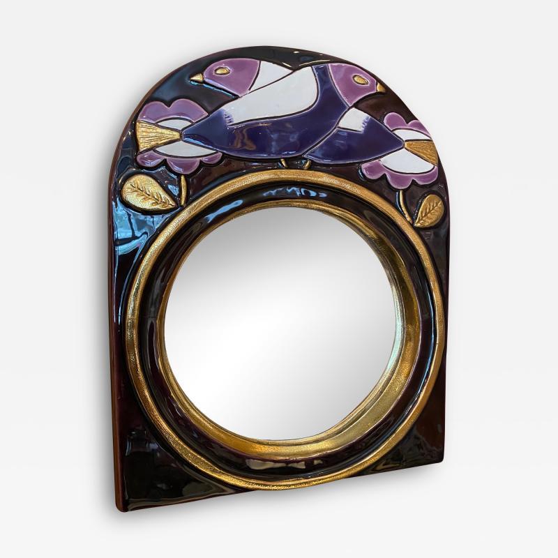 Mithe Espelt Ceramic mirror