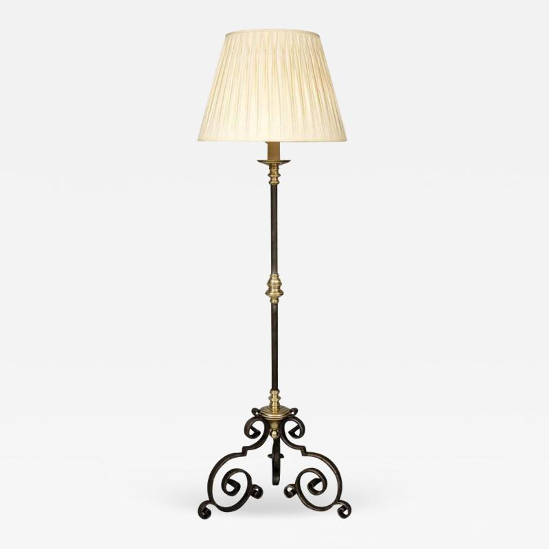 Mixed Metal Floor Lamp