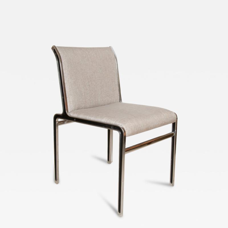 Modern Chrome Dining Chairs