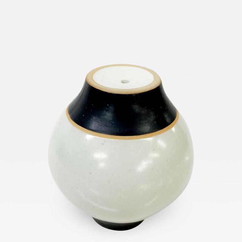 Modernist Pottery Salt Shaker Clean Modern Design