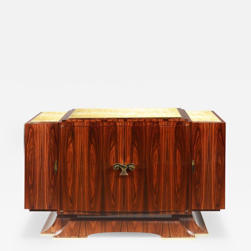 Modernist Style Dry Bar by Iliad Design
