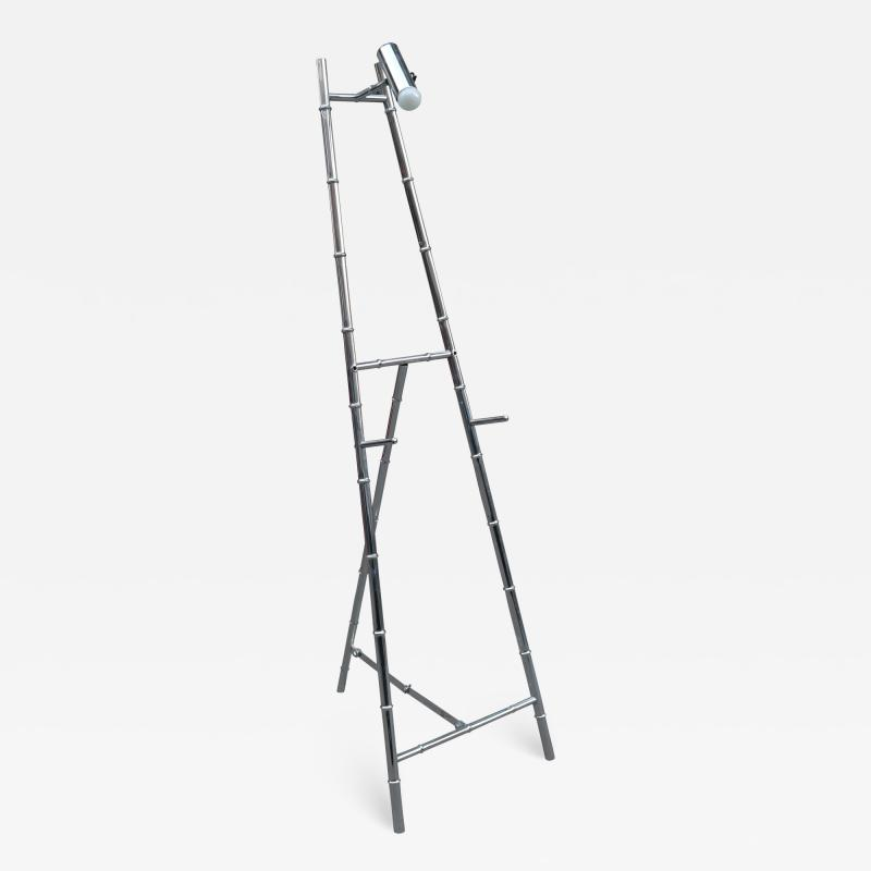 Modernist Stylized Bamboo Display Easel