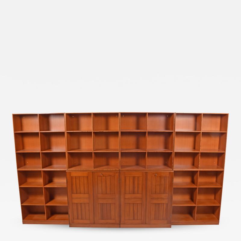Mogens Koch Mogens Koch Bookcase Wall Unit for Rud Rasmussen
