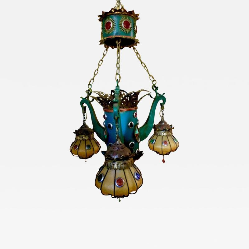 Moroccan Inspired Chandelier from the Sahara Hotel Las Vegas