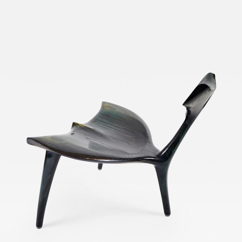 Morten Stenbaek Art Whale Chair MS82 Handcrafted and Designed by Morten Stenbaek