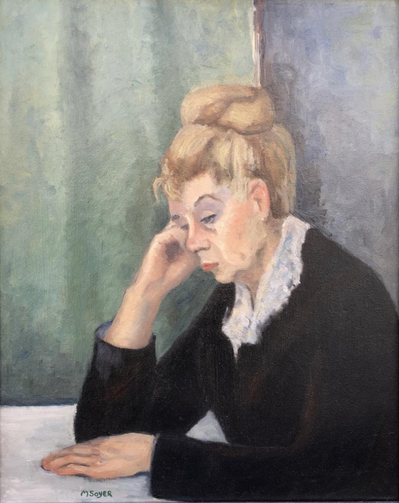Moses Soyer Mother of the Artist