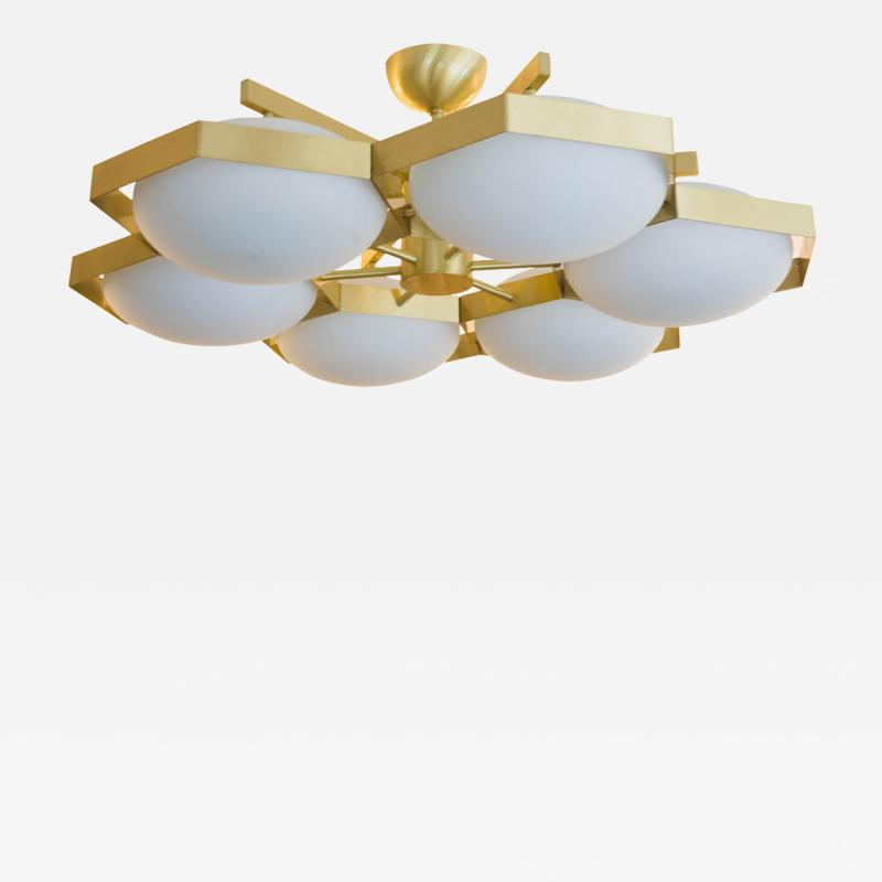 Murano Beehive shaped ceiling light