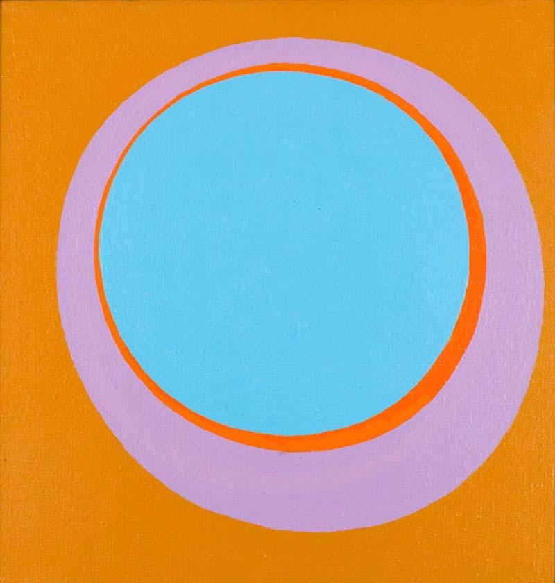 Murray Hantman Abstract Painting Andole