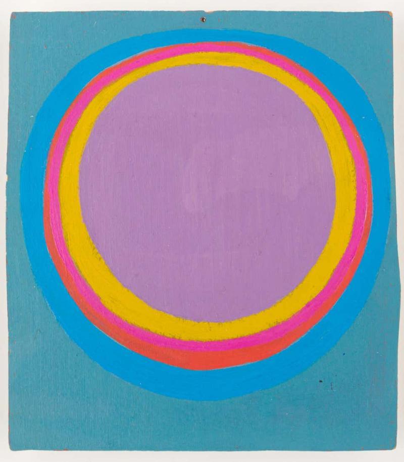 Murray Hantman Abstract Painting USA 1960s