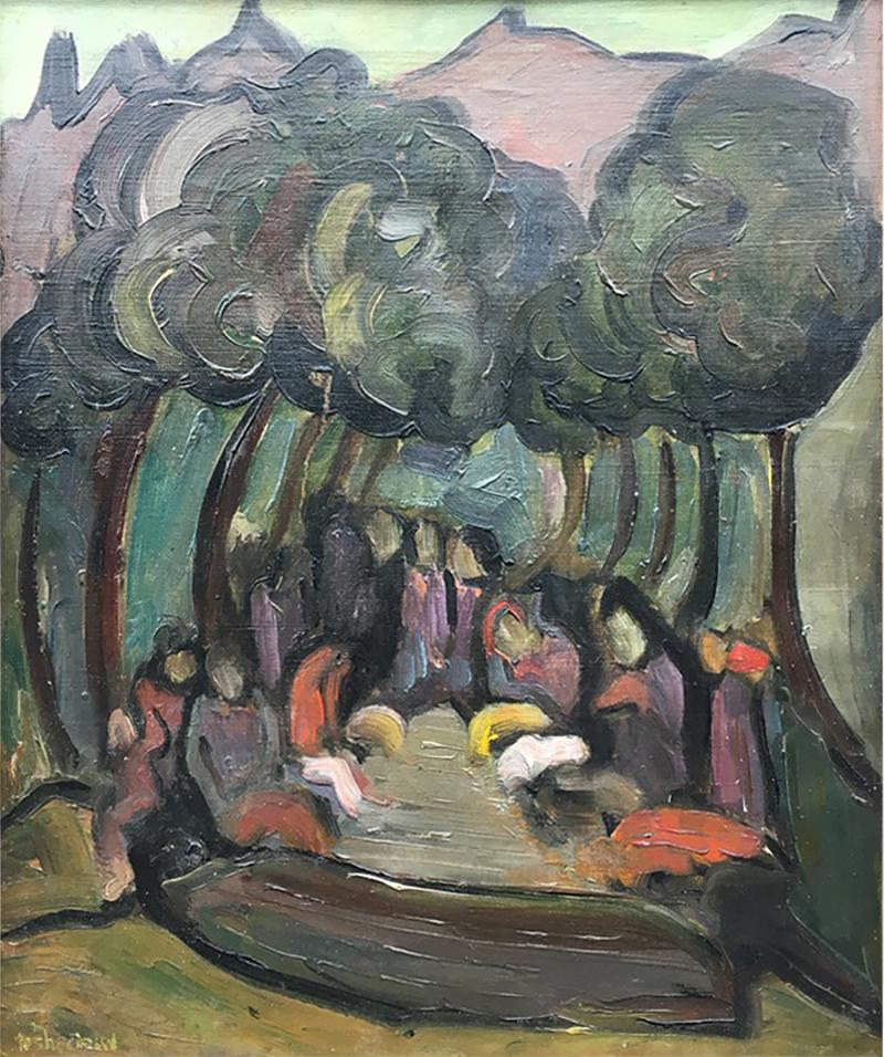 Nahum Tschacbasov A Day at the Park