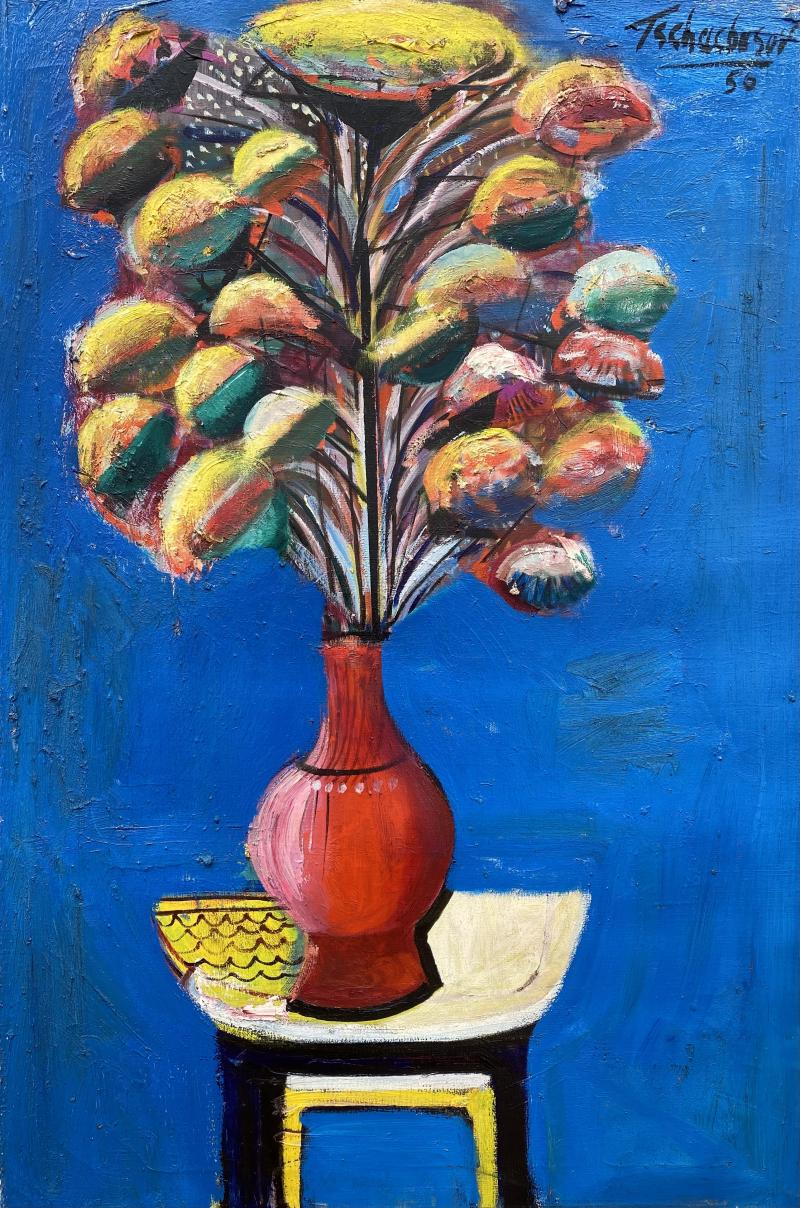 Nahum Tschacbasov Modern Bouquet
